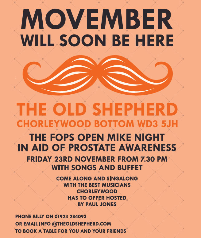 Prostate Cancer Fundraising Event