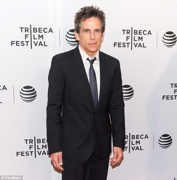 Ben Stiller reveals he was diagnosed with 'aggressive' form of Prostate Cancer Logo