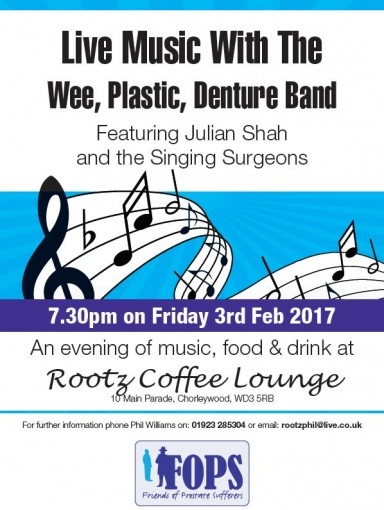 Live Music, food & drink at Rootz Coffee Lounge, Chorleywood WD3 5RB photograph