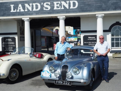 XK Club Round Britain Coastal Drive photograph