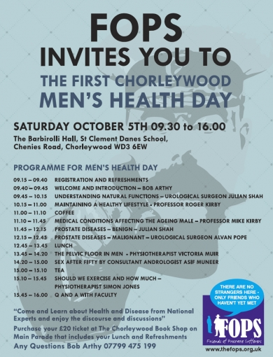 The First Chorleywood Mens Health Day (October 5th) photograph
