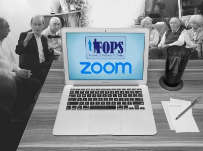 FOPS Virtual Zoom Support Group Meeting (Wed 7th October Online) photograph